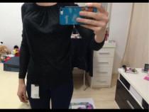 Bluza Zara,marime s,neagra,noua