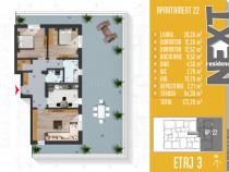 Apartament 3 camere cu terasa Metalurgiei
