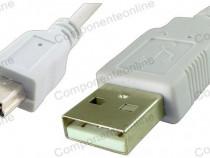 Cablu adaptor mini USB-USB A, tata, 20cm - 127956