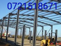 Construim hale structuri garaje metalice