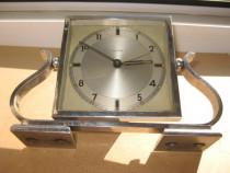 7574-I-Ceas Mauthe masa Art Deco 1930 stativ Lira nefunction