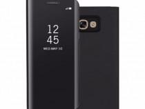 Samsung S8 S8 Plus Flip Case Oglinda Activ Negru, Albastru