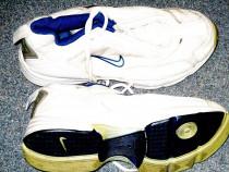 Adidasi Nike panza alb cu albastru nr 35 36