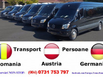 Zilnic transport persoane Timisoara Romania Austria Germania