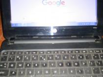 Laptop HP mini 100 10 inch 3 USB procesor 1,66 Ghz, 256 hdd