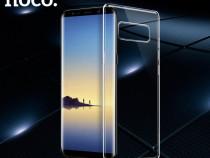Husa slim TPU +silicon moale Hoco Samsung NOTE 8 transparent