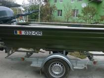Barca aluminiu Ungaria cat. D inmatriculata