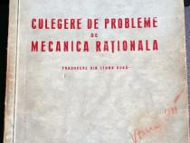 Culegere de probleme de Mecanica Rațională