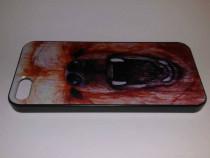 Husa protectie iPhone 5 5S - carcasa plastic spate telefon,