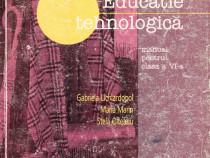 Educatie tehnologica clasa a VI-a
