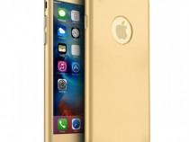 Husa 360 Din Plastic Fata Spate Folie Sticla - Iphone 7 7+