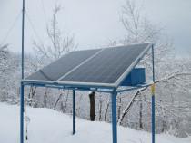 Sistem fotovoltaic eolian