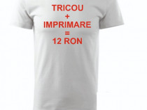 Tricouri personalizate la cerere