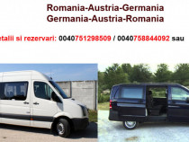 Transport Romania-Austria-Germania