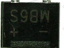 Punte redresoare 0,8A, 600V, SMD, MB6S - 133071