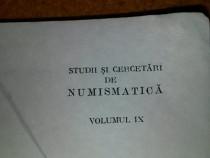 Studii si cercetari de numismatica vol 9