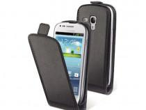 Husa Flip Case Samsung Galaxy S3 mini BlackPRODUS NOU