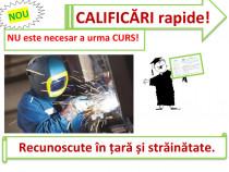 Curs rapid sudor mașinist terasamente ifronist mecanic