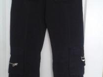 """Jeansi NOI negri Black Bull Jeans 26/33"""""""