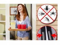 Plasa anti tantari insecte 210x100cm perdea cu magneti