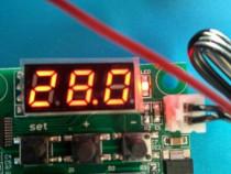 Thermostat cu releu și senzor de temperatura.