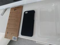 Husa de protectie Case Rubber, pentru iPhone 8, Negru