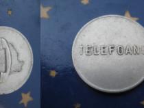 Set 4 Monede Telefoane vechi 3Romania+1 Ungaria.
