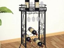 Suport metalic pentru 9 sticle de vin(240940)
