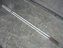 Țevi 170 cm, diametru 28 mm, grosime 3 mm, 2 bucăți