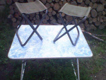 Masuta cu scaunele ptr.champing