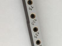 Sablon mobila pt ericsoane L=285mm 10x bucse 5mm PAL 16/18mm