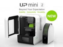 -70 % Reducere, Imprimanta 3D UP Mini 2, WIFI, FDM,HEPA,NOUA