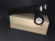 Folie stretch manual negru 500 mm, 23 my, 1.50 kg