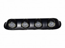 Proiectoare plafon 4x4 LED cu ANGEL EYES, off road, land rov