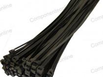 Colier plastic 3,6x300mm, negru, 100 bucati-134537