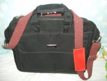Geanta Meijieluo compartimentata pentru laptop sau birou.