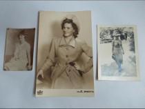 Moda femei - mijloc sec XX - 3 fotografii