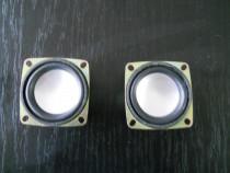 Set difuzor 3W, 4 Ohmi, 50/50 mm