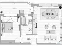 Apartament 2 camere finisat Mamaia Nord