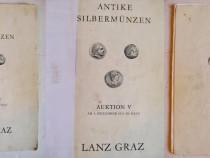 Catalog Monede antice de argint-Decembrie 1975, licitatii.