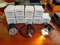 Spot led dimabil Aurora MOD533WW 3x3W 12V 700mA alb cald