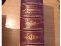 RWX 32-Nouveau Dictionnaire Roumain-Francais 1893 - F. Dame