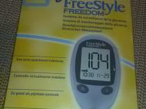 Glucometru aparat glicemia diabet freestyle freedom