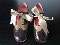 Pantofi noi din piele lac 31 (19,5 cm)