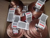 -50 % reducere, hama cablu boxe 2 x 0.75 mm²,30721, 10m. nou