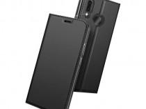 Husa Telefon Flip Book Huawei P20 Lite Grey PRODUS NOU