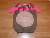 Costum carnaval serbare animal bufnita fluture de 1-2 ani