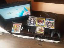 Sony Play Station 3 cu 2 manete si 4 jocuri originale