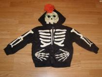 Costum carnaval serbare schelet pentru copii de 2-3 ani
