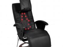 Scaun pentru masaj shiatsu tapițat pe jumătate în PU(242508)